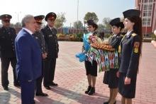 Визит руководителя Академии МВД Российской Федерации г. Волгоград в Академию МВД Республики Таджикистан
