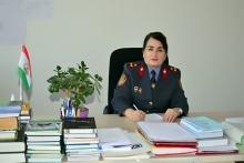 Кафедраи забонҳои Академияи ВКД Ҷумҳурии Тоҷикистон