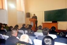 Созидательные работы в Академии МВД Республики Таджикистан