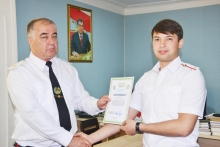 Upgrading the qualifications of the staff of the Passport and Registration Service of the MIA of the Republic of Tajikistan