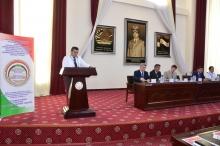 Конференция, посвященная 20-летию принятия Уголовного кодекса Республики Таджикистан, прошедшая в Академии МВД