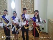 Ғолибони озмуни стипендияи Раиси вилояти Суғд