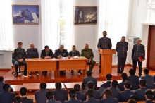 Плодотворная встреча курсантов с руководителями органов внутренних дел