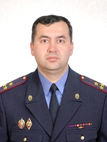 Заместитель начальника Академии МВД Республики Таджикистан по силовой части