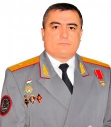 Head of the Academy of the Ministry of Internal Affairs of the Republic of Tajikistan, Major-General of the Militia SHARIFZODA FAYZALI RAHMONALI