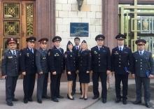 Очередной выпуск представителя Академии МВД Республики Таджикистан в России