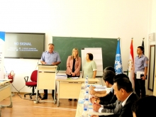 Трехдневный семинар в Академии МВД Республика Таджикистан