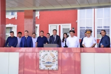 Visit of the Uzbek delegation to the Academy of the Ministry of Internal Affairs of the Republic of Tajikistan