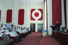 Knowledge Day at the Academy of the Ministry of Internal Affairs and the Minister