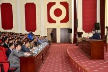 Молодёжь Бадахшана посетила Академию МВД