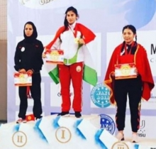 Cadet of the Academy of the Ministry of Internal Affairs won 3 gold medals