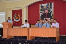 Встреча членов «Совета молодёжи» Академии МВД с учащимися учебных заведений города Душанбе