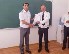Завершение 3 фазы краткосрочных курсов повышения квалификации в Академии МВД Республики Таджикистан