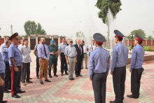 Familiarization of foreign guests with the Academy of the Ministry of Internal Affairs of the Republic of Tajikistan