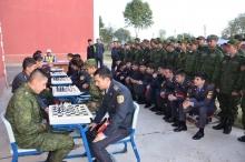 Участие курсантов Академии МВД в турнире по шахматам