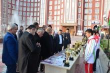 Визит таджикской диаспоры в Академию МВД