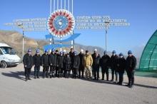 Экскурсия преподавателей и сотрудников Академии МВД в Рогунскую ГЭС