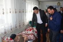 Посещение Дома-интерната для престарелых и инвалидов города Турсунзаде