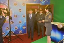 Открытие Телевизионной студии в Академии МВД