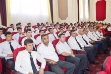 Праздник стихов и песен во славу Родины и независимости в Академии МВД