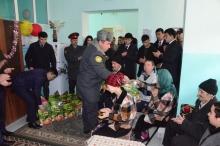 Посещение работников и курсантов Академии Центр защиты «Хонаи мехр» в городе Душанбе