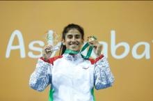 Мижгона Самадова лучшая спортсменка года