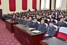 Встреча Министра внутренних дел с личным составом Академии МВД