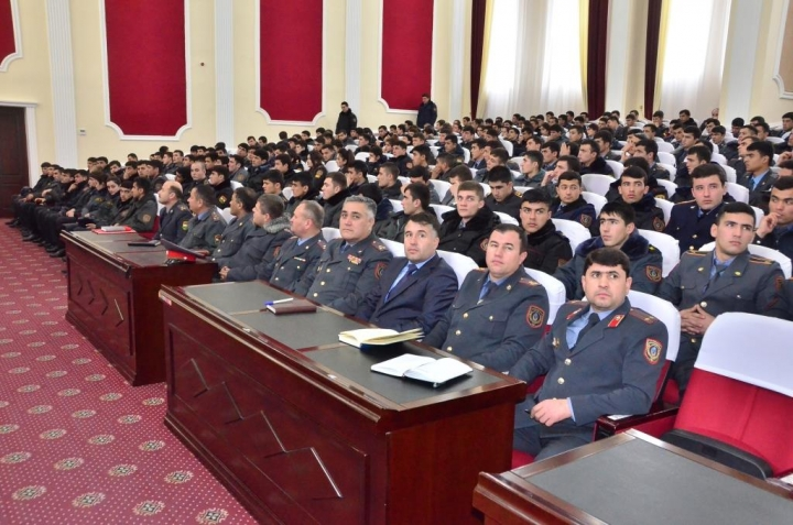 Meeting of the Minister of Internal Affairs with the staff of the Academy of the Ministry of Internal Affairs