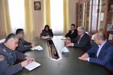 Прием гостей в стенах Академии МВД Республики Таджикистан